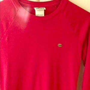Lacoste women's long sleeve T-shirt size 38